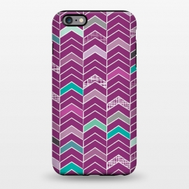 iPhone 6/6s plus  Chevron Purple by Rosie Simons ()