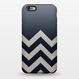 iPhone 6/6s plus  Chevron Block Silver Grey by Monika Strigel ()