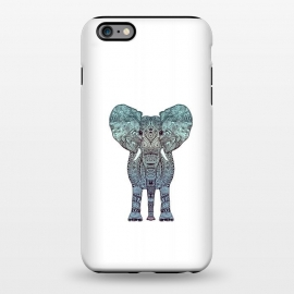 iPhone 6/6s plus  Elephant Blue by Monika Strigel ()