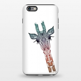 iPhone 6/6s plus  Giraffe Teal by Monika Strigel ()