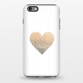 iPhone 6/6s plus  Gatsby Gold Heart by Monika Strigel ()