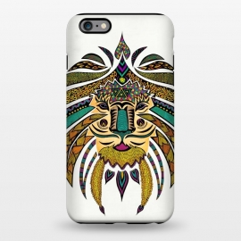 iPhone 6/6s plus  Emperor Tribal Lion by Pom Graphic Design ()