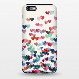 iPhone 6/6s plus  Heart Connections a watercolor painting by Micklyn Le Feuvre