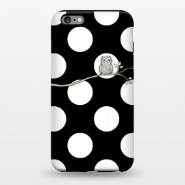 iPhone 6/6s plus  Out on a Limb Polka Dot Owl Moon by Micklyn Le Feuvre ()