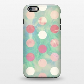 iPhone 6/6s plus  Polka Dots Watercolor Front by Girly Trend