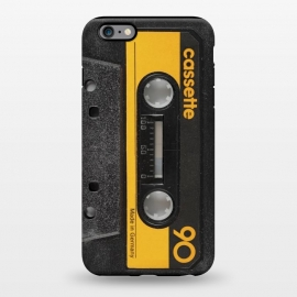 iPhone 6/6s plus  CASSETTE YELLOW by Diego Tirigall ()