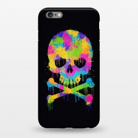 iPhone 6/6s plus  Grafitti Watercolor Skull by Philipp Rietz