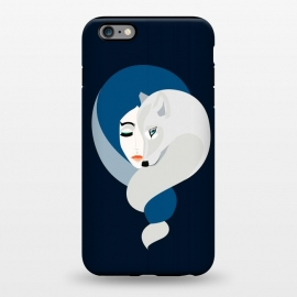 iPhone 6/6s plus  White Wolf by Stefania Pochesci