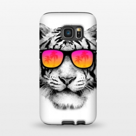 Galaxy S7  The Coolest Tiger by Mitxel Gonzalez