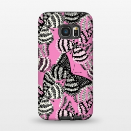 Galaxy S7  Tribal butterfly by Laura Grant