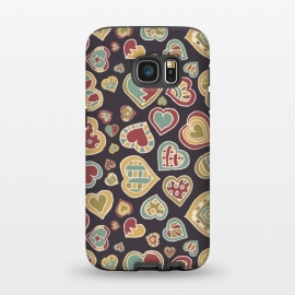 Galaxy S7  I Heart Doodling by Micklyn Le Feuvre