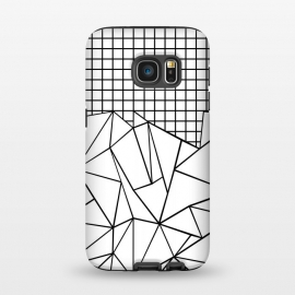 Galaxy S7  AB Grid White by Project M