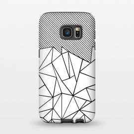 Galaxy S7  AB Lines 45 White by Project M