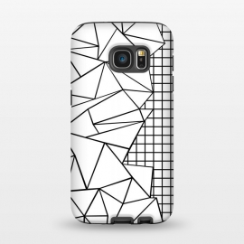 Galaxy S7  AB Side Grid White by Project M