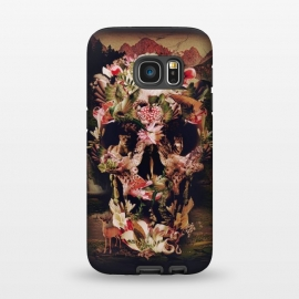 Galaxy S7  Jungle Skull by Ali Gulec ()