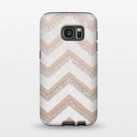 Galaxy S7  Nude Chevron by Monika Strigel ()