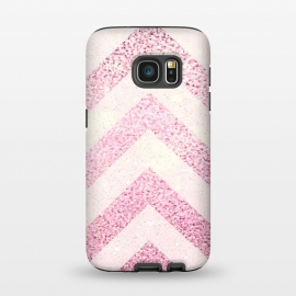 Galaxy S7  Party Chevron Powder by Monika Strigel ()
