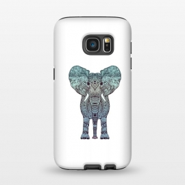 Galaxy S7  Elephant Blue by Monika Strigel ()