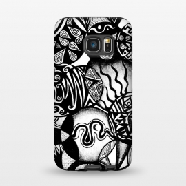 Galaxy S7  Circles and Life by Pom Graphic Design ()