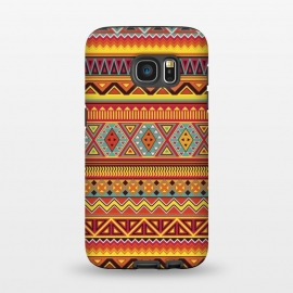 Galaxy S7  AZTEC PATTERN by Diego Tirigall