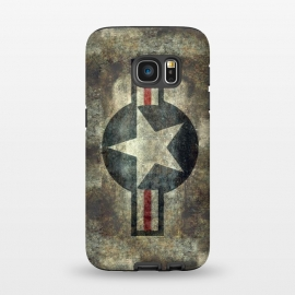 Galaxy S7  Airforce Roundel Retro by Bruce Stanfield ()