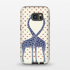 Galaxy S7  Giraffes in Love a Valentine's Day illustration by Micklyn Le Feuvre ()
