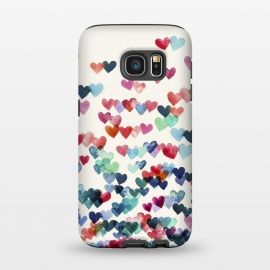 Galaxy S7  Heart Connections a watercolor painting by Micklyn Le Feuvre ()