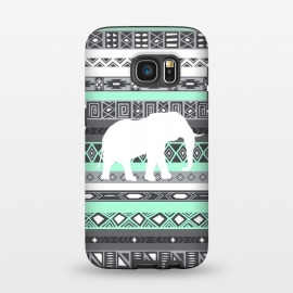 Galaxy S7  Tiffany Elephant Aztec by Rex lambo