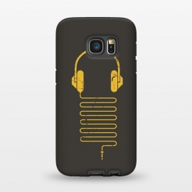 Galaxy S7 StrongFit GOLD HEADPHONES by Sitchko Igor ()