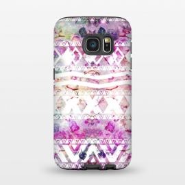 Galaxy S7  Nebula Flowers Floral by Girly Trend
