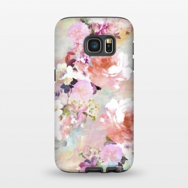Galaxy S7  Watercolor Flowers by Girly Trend
