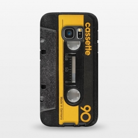 Galaxy S7  CASSETTE YELLOW by Diego Tirigall ()