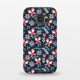 Galaxy S7  Midnight Butterfly by Dunia Nalu