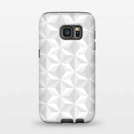 Galaxy S7 StrongFit White Geometry by M.O.K. ()