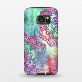 Galaxy S7  Round and Round the Rainbow by Micklyn Le Feuvre ()