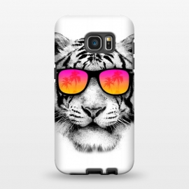 Galaxy S7 EDGE  The Coolest Tiger by Mitxel Gonzalez