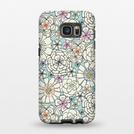 Galaxy S7 EDGE  Marisa Floral by TracyLucy Designs