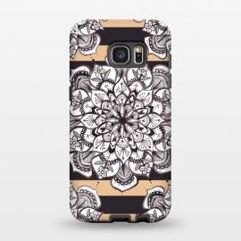 Galaxy S7 EDGE  Mandala 3 by Laura Grant
