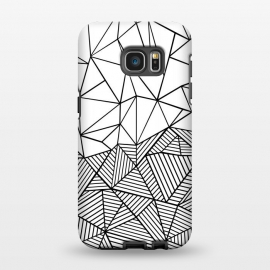 Galaxy S7 EDGE  AB Half and Half White by Project M