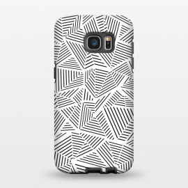 Galaxy S7 EDGE  AB Linear White by Project M
