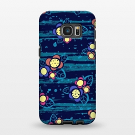 Galaxy S7 EDGE  Surf Floral by Kimrhi Studios