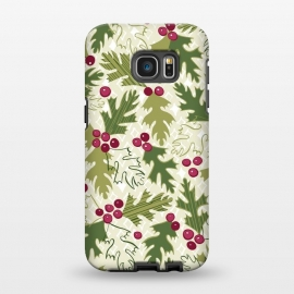 Galaxy S7 EDGE  Winter Berry by Kimrhi Studios