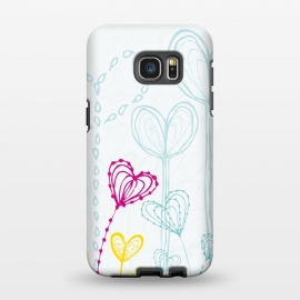 Galaxy S7 EDGE  Love Garden  White by MaJoBV ()