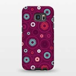Galaxy S7 EDGE  FloralCogs by Rosie Simons ()