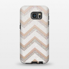 Galaxy S7 EDGE  Nude Chevron by Monika Strigel ()