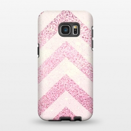 Galaxy S7 EDGE  Party Chevron Powder by Monika Strigel ()
