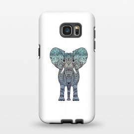Galaxy S7 EDGE  Elephant Blue by Monika Strigel ()