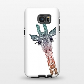 Galaxy S7 EDGE  Giraffe Teal by Monika Strigel ()