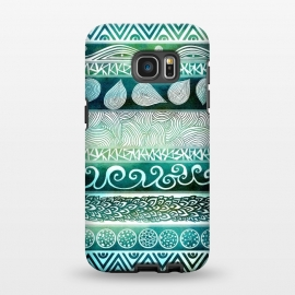 Galaxy S7 EDGE  Dreamy Tribal by Pom Graphic Design ()