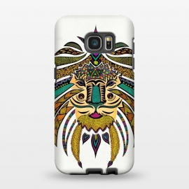 Galaxy S7 EDGE  Emperor Tribal Lion by Pom Graphic Design ()